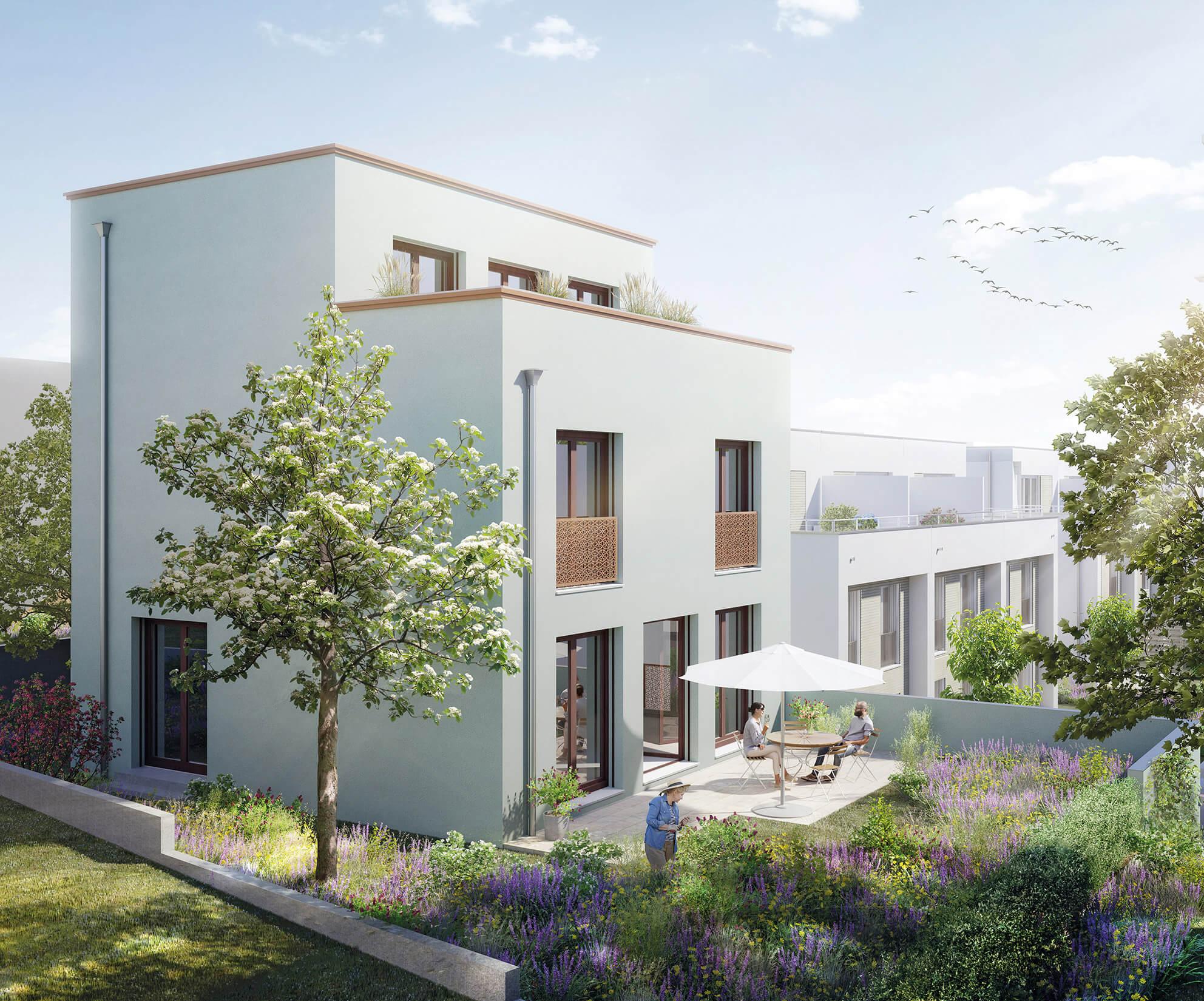 Freistehendes Einfamilienhaus, Visualisierung